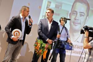 StudentenWerk's Rogier Thewessen wint LOEY Award 2013